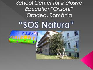 "School Center for Inclusive Education ""Orizont"" Oradea, România"