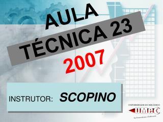 AULA T�CNICA 23 2007