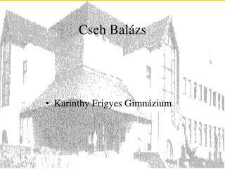 Cseh Balázs