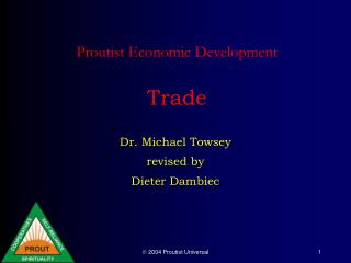 Proutist Economic Development Trade