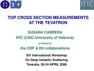 TOP CROSS SECTION MEASUREMENTS AT THE TEVATRON