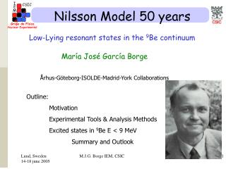 Nilsson Model 50 years