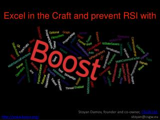 Excel in the Craft and prevent RSI with