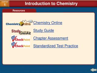 Chemistry Online Study Guide Chapter Assessment Standardized Test Practice