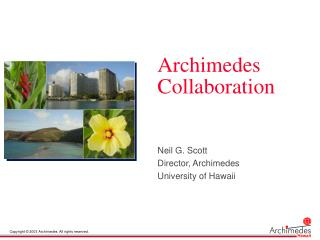 Archimedes Collaboration