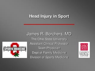 Head Injury in Sport