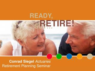 Conrad Siegel Actuaries Retirement Planning Seminar