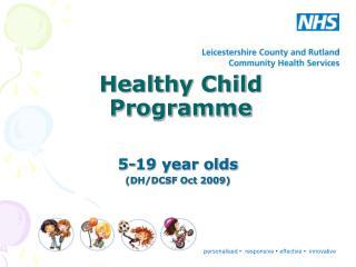 Healthy Child Programme