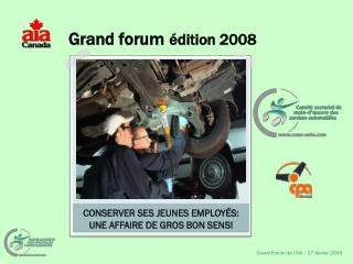 Grand forum �dition 2008