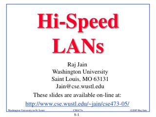 Hi-Speed LANs