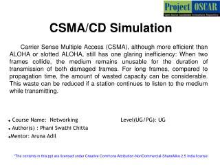 CSMA/CD Simulation