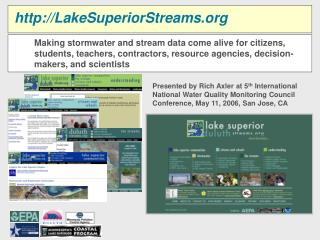 LakeSuperiorStreams