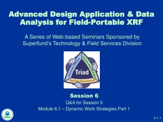 Advanced Design Application & Data Analysis for Field-Portable XRF