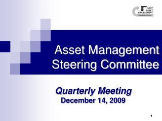 Asset Management Steering Committee