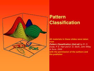 Chapter 2 (Part 2):  Bayesian Decision Theory (Sections 2.3-2.5)