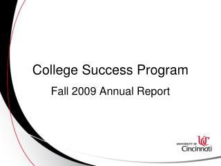 College Success Program