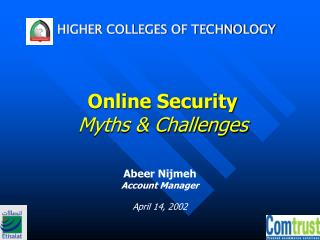 Online Security Myths & Challenges