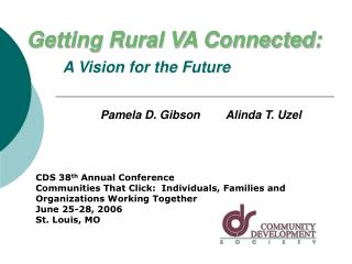 Getting Rural VA Connected: A Vision for the Future