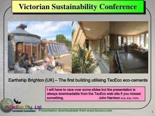 Victorian Sustainability Conference