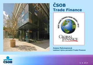 ČSOB Trade Finance