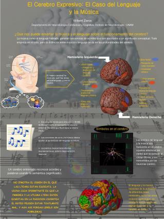 El Cerebro Expresivo: El Caso del Lenguaje  y la Música