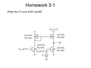Homework 3-1