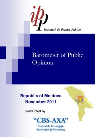 Baromet e r  of Public Opinion