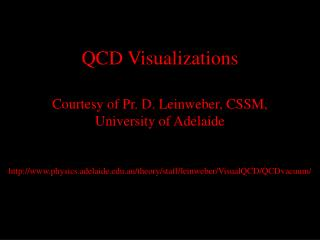 QCD Visualizations