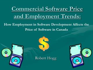 Commercial Software Price and Employment Trends: