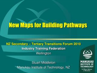 New Maps for Building Pathways