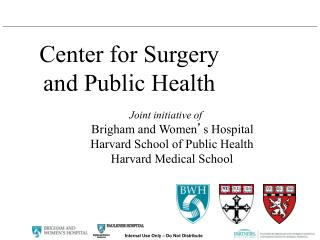 Center for Surgery and Public Health
