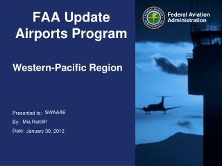 FAA Update Airports Program