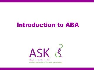 Introduction to ABA