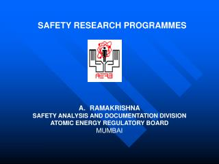 SAFETY RESEARCH PROGRAMMES