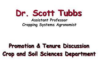 Dr. Scott Tubbs