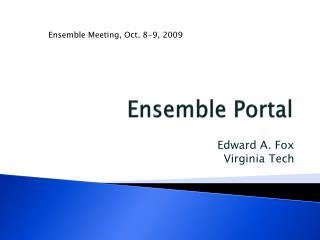 Ensemble Portal