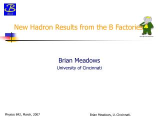 New Hadron Results from the B Factories