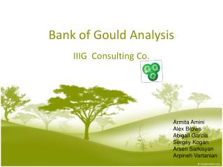 Bank of Gould Analysis