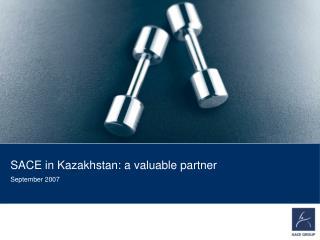 SACE in Kazakhstan: a  valuable  partner