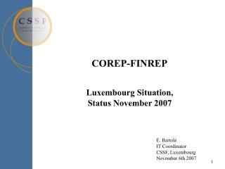 COREP-FINREP