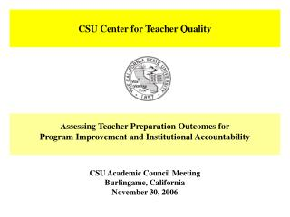 CSU Center for Teacher Quality
