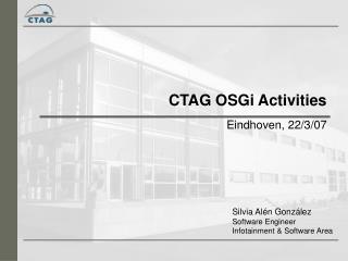 CTAG OSGi Activities