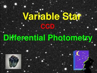 Variable Star  Differential Photometry