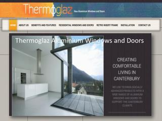 Thermoglaz Aluminium windows and Doors