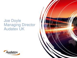 Joe Doyle  Managing Director  Audatex UK