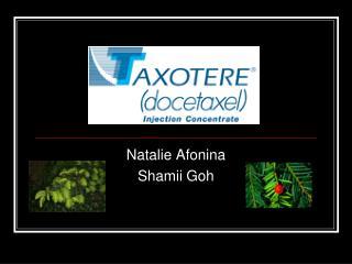 Natalie Afonina Shamii Goh