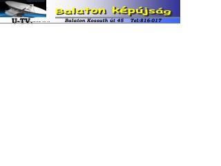 Balaton k�p�js�g