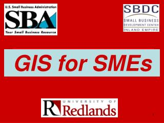 GIS for SMEs