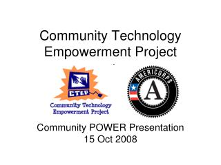 Community Technology Empowerment Project