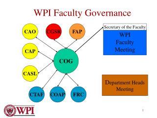 WPI Faculty Governance